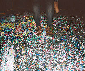 party, shoes, and vintage image