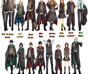 harry potter and anime image