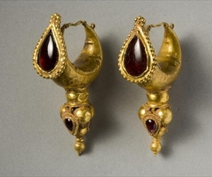 ancient, roman, and earrings image