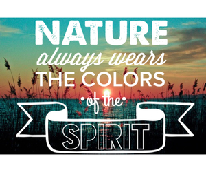 nature, spirit, and loveit image
