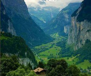 mountains, nature, and switzerland image
