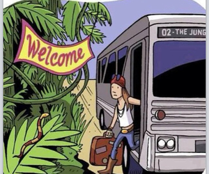 Guns N Roses, axl rose, and welcome to the jungle image