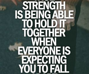 fall and strength image