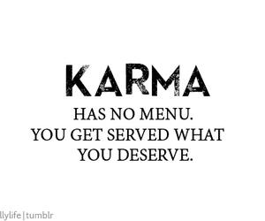 karma, quote, and life image