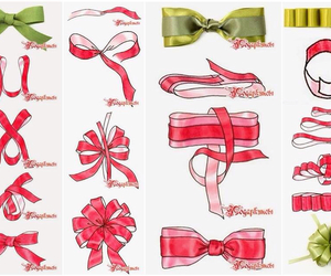 diy, bow, and gift image