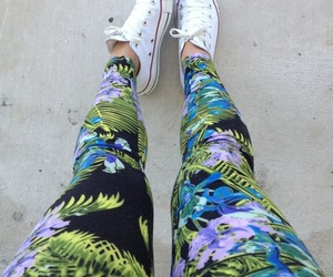 fashion, converse, and legs image