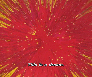 Dream, red, and art image