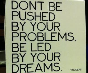 dreams and problems image