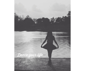 ballerina, dance, and life image