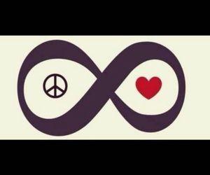 infinity, love, and money image