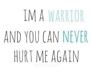 warrior, demi lovato, and quote image