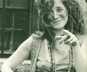 janis joplin, hippie, and music image