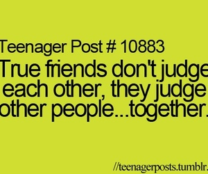 teenager post, friends, and judge image