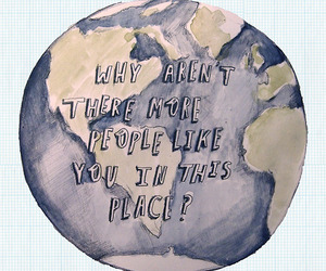 quote, earth, and people image