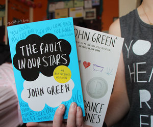 john green, book, and the fault in our stars image