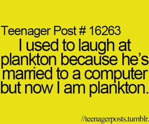 plankton, computer, and funny image