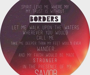 hillsong united, Lyrics, and ocean image