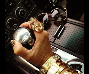 gold, range rover, and car image