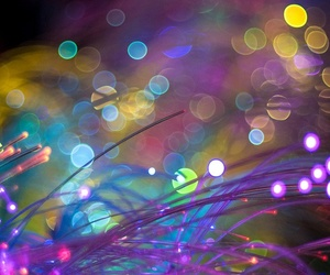 light, bokeh, and colors image