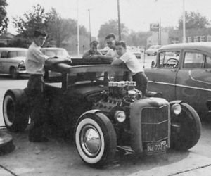 boys, vintage, and hot rod image