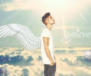 justin bieber, believe, and my angel image