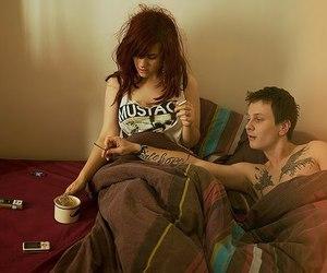 couple, tattoo, and boy image