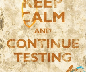 keep calm, portal, and aperture science image