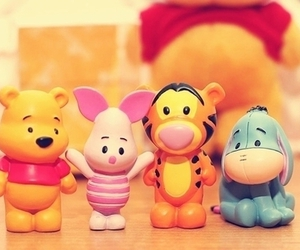 cute, pooh, and piglet image