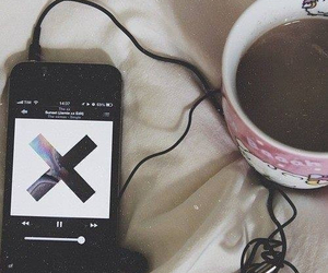 music, coffee, and the xx image