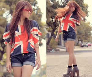 girl, cute, and england image