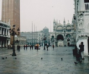 city, venice, and photography image