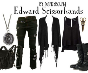 cool, edward scissorhands, and spicy image