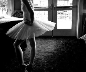 ballet, beautiful, and beauty image