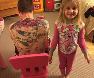 tattoo and coloringbook image