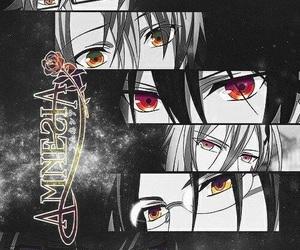 anime, amnesia, and eyes image