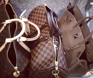bags, hermes, and Louis Vuitton image