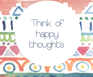 happy, quote, and thoughts image