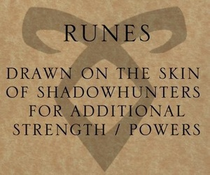 the mortal instruments, runes, and tmi image