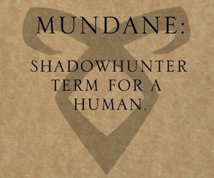 mundane and the mortal instruments image