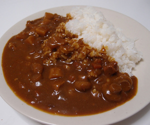 asian, curry, and food image