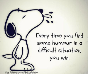 snoopy, quotes, and humour image