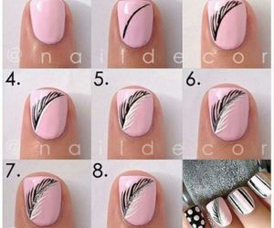 nail and follow me plz image