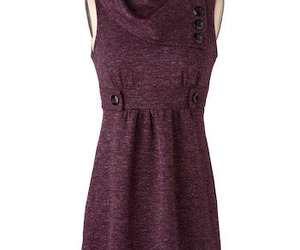 dress, cute, and purple image