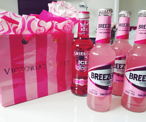 pink, alcohol, and breezer image