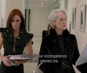 the devil wears prada, movie, and quotes image