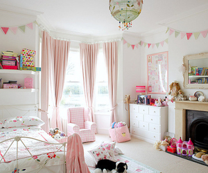 girly, room, and home decor image