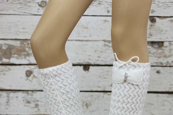 lace socks, boot socks, and leg warmers image