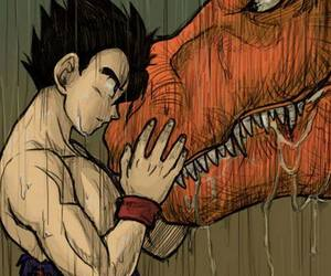 dragon ball z, gohan, and anime image