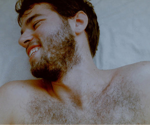 beard, beautiful, and boy image