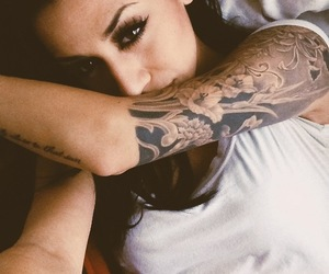 babe, girl, and tattos image